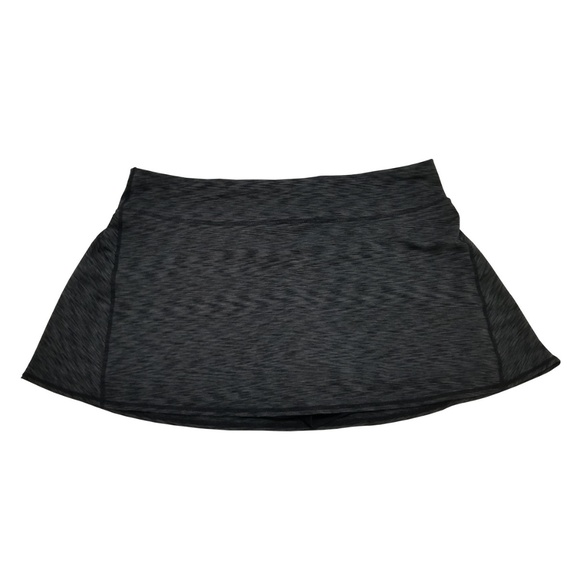 350bc63a8a2 Ideology Tennis Spaced-Dyed Skort Black XLarge